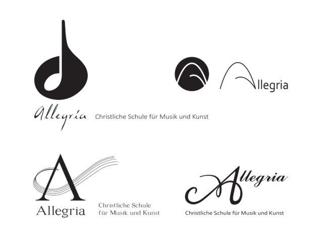Allegria logo ideas