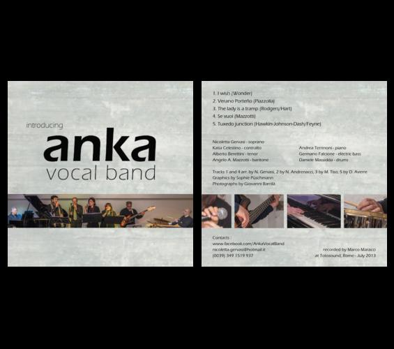 CD cover anka vocal band