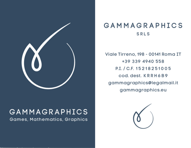 Business card Gammagraphics